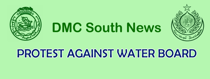Protest Against Water Board