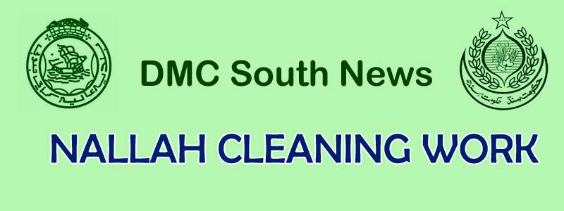 Nallah Cleaning Work in District South